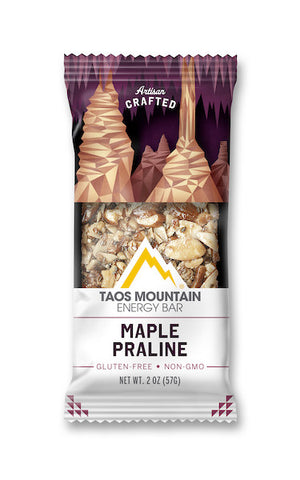 Taos Mountain Energy Bar Maple Praline