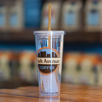 Clear Logo Travel Cup - Park Avenue Coffee