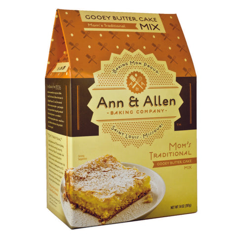 Mom's Traditional Gooey Butter Cake Mix - Park Avenue Coffee