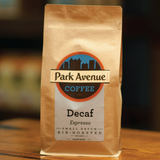 Decaf Espresso - Park Avenue Coffee