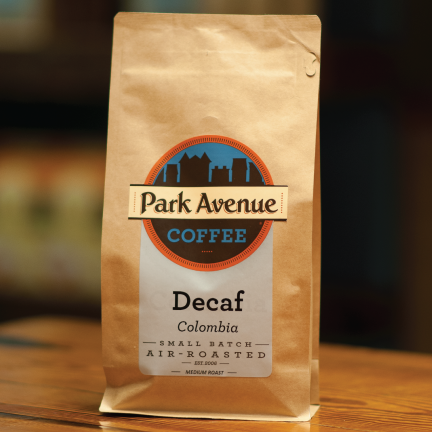 Decaf Colombia - Park Avenue Coffee
