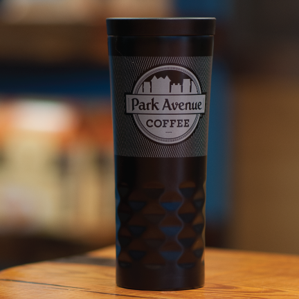 City Tumbler - Matte Black - Park Avenue Coffee