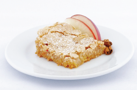 Apple Cinnamon Gooey Butter Cake - Park Avenue Coffee