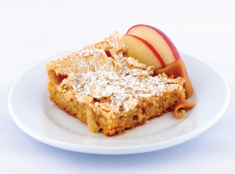 Caramel Apple Gooey Butter Cake