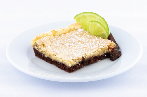 Chocolate Key Lime Gooey Butter Cake - Park Avenue Coffee