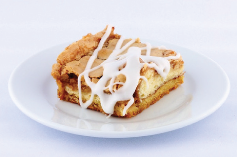 Cinnamon Roll Gooey Butter Cake