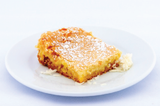 Coconut Gooey Butter Cake - Park Avenue Coffee