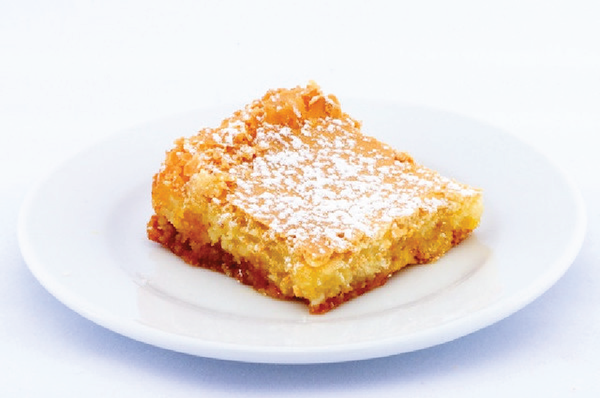 Amaretto Gooey Butter Cake