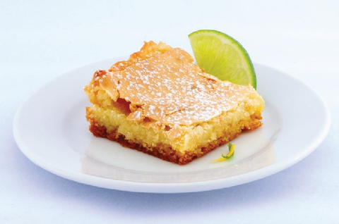 Key Lime Gooey Butter Cake - Park Avenue Coffee