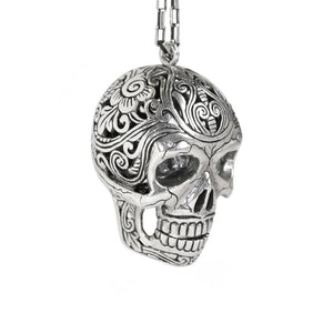 Mexican Skull Necklace