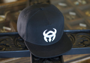Black hat, white logo