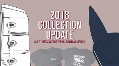An update on all things saddle pad and brushing boot