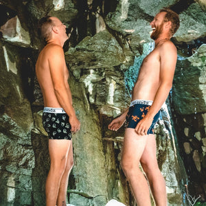 Let Reer Endz men's undies open up the conversation with a mate.
