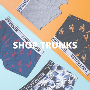 Men's trunk underwear online at Reer Endz Men's underwear. Comfy men's undies never felt so good.