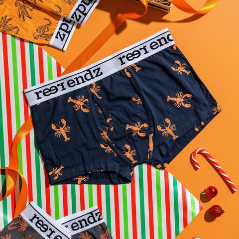 Gifts for him! Reer Endz men's underwear, the perfect eco friendly gifts for him! Our mens undies are made from GOTS certified Organic cotton.