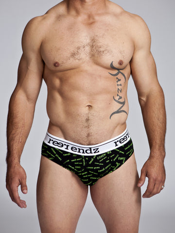 Fly Front Brief in Cover Yours Print