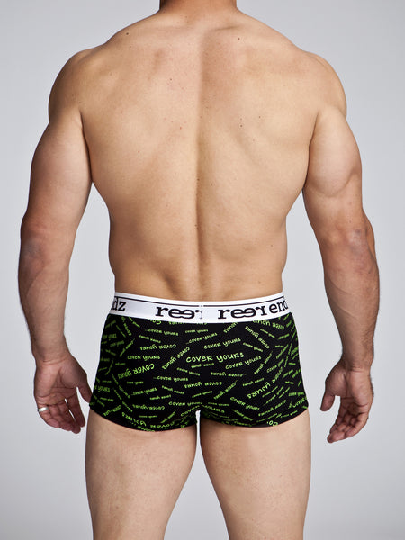 Fly Front Trunk in Cover Yours Print