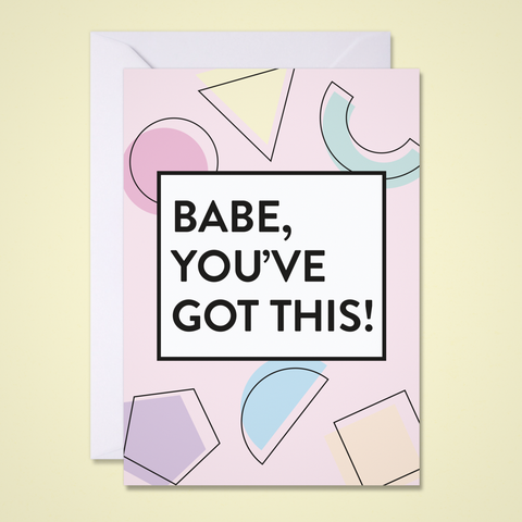 You've Got This Greeting Card
