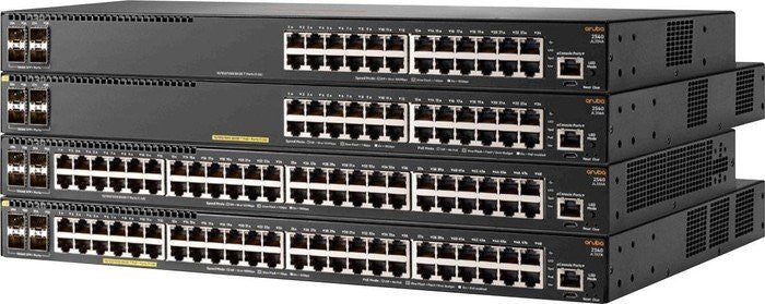 JL355A Aruba 2540 48G 4SFP+ 48-Port Switch with 4 SFP/SFP+ Ports