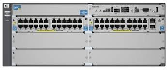 HPE 5406-44G-PoE+2XG v2 zl Switch with Premium Software - Prince Technology, LLC