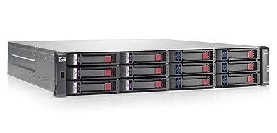 HP Modular Smart Array P2000 Dual I/O LFF Drive Enclosure Storage enclosure - 12-bay AP843B - Prince Technology, LLC