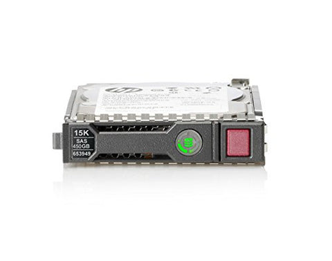 "HP 450 GB Hot-swap hard drive SAS 12Gb/s 2.5"" 15000 rpm Ent w/ HP SmartDrive carrier 759547-001 - Prince Technology, LLC"