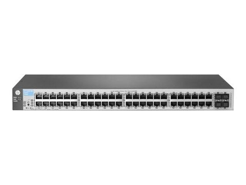 HP 1810-48G Managed Switch - 48 Ethernet Ports & 4 SFP Ports - RENEW - Prince Technology, LLC