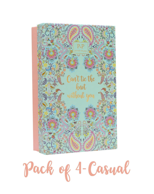 Bridesmaid pack of 4 - casual