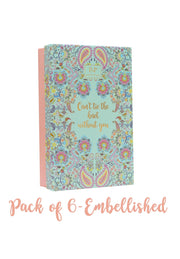 Bridesmaid pack of 6- Embellished