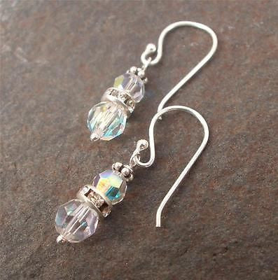 Vintage AB Swarovski drop earrings - Gentille - 5 colours