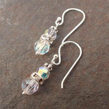 Vintage AB Swarovski earrings - Gentille - 5 colours