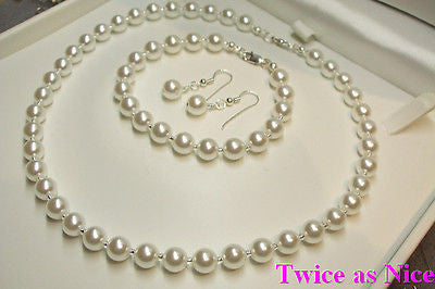Large pearl  jewelry set - Audrey Hepburn