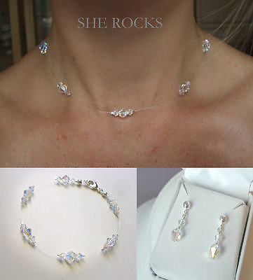 Swarovski illusion jewelry set - Sparkle