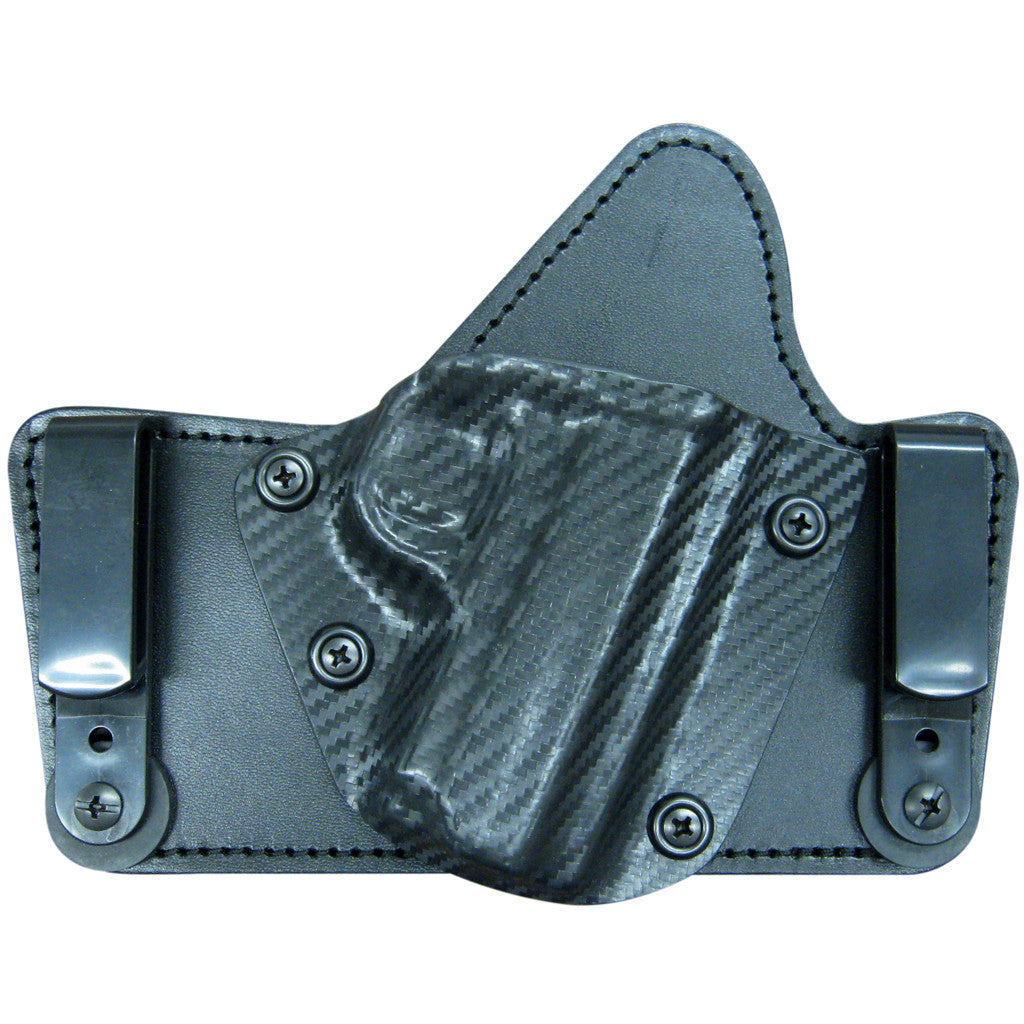 Ultimate Holsters Smith and Wesson Bodyguard 380 With Laser - Cloud Tuck - The Best IWB Hybrid Holster for the BG380