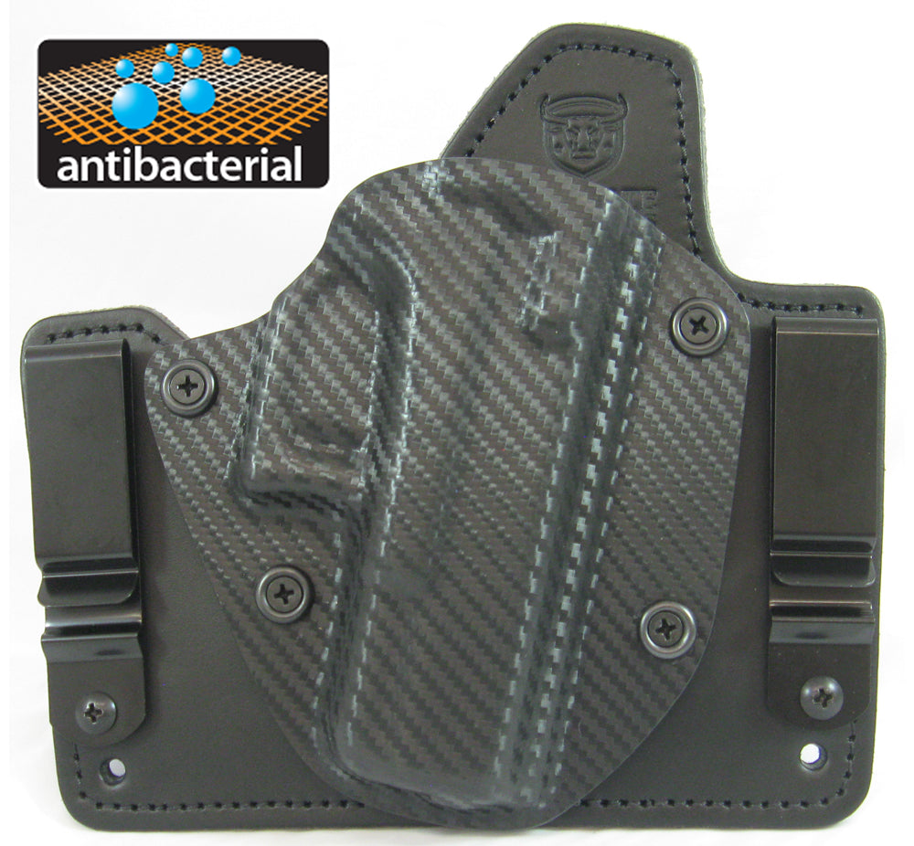 Ultimate Holsters 1911 Officer - Cloud Tuck - The Best IWB Hybrid Holster for 1911 3.5""