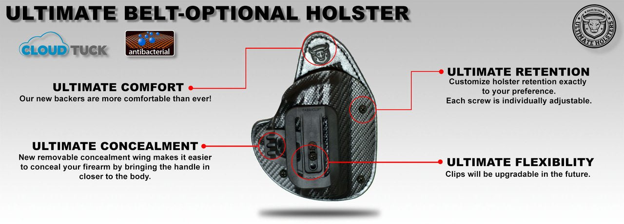 The Best Gun Belt- Ultimate USA Made Leather CCW Belt