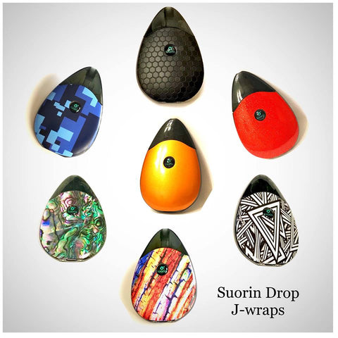 Suorin Drop J-Wrap - Trade N Vape - Cheap vape - JWrap - usa - in stock - vapor - vaping