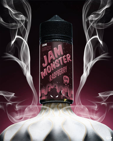 Jam Monster - Raspberry Limited Edition - Trade N Vape - Cheap vape - Jam Monster - usa - in stock - vapor - vaping