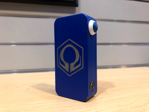 Blue Powder Coat HexOhm 3.0 *used* - Trade N Vape - Cheap vape - Craving Vapor - usa - in stock - vapor - vaping