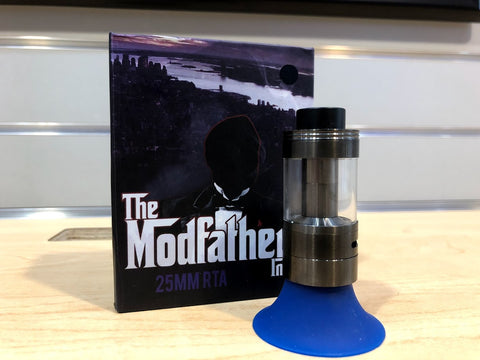 The Modfather 25mm RTA - Trade N Vape - Cheap vape - The Modfather - usa - in stock - vapor - vaping