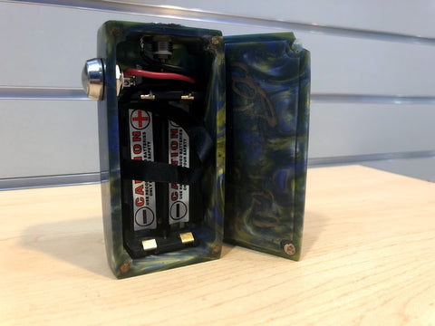 252 Mod Stab Wood Mod *used* - Trade N Vape - Cheap vape - 252 - usa - in stock - vapor - vaping