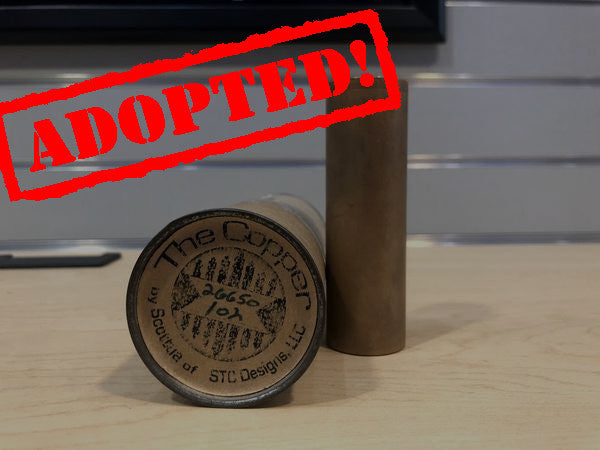 The Copper 26650 Serial #102 Mod *used* - Trade N Vape - Cheap vape - Scottua - usa - in stock - vapor - vaping