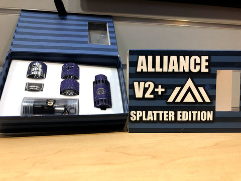 Alliance V2 Splatter Edition *Used*