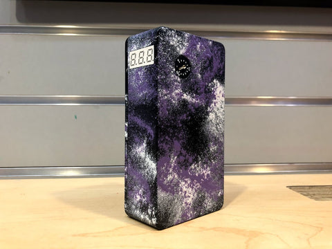 Jmodz Purple Splatter Triple Series Box *Used*