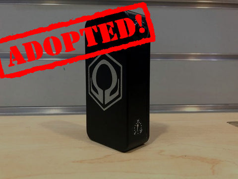 Black Powder Coat HexOhm 3.0 *used* Serial #5727 - Trade N Vape - Cheap vape - Craving Vapor - usa - in stock - vapor - vaping