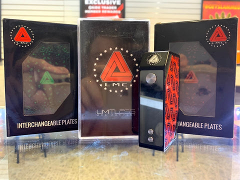 Limitless Mod Company 200w w/ Extra Plates*Used* - Trade N Vape - Cheap vape - Limitless - usa - in stock - vapor - vaping