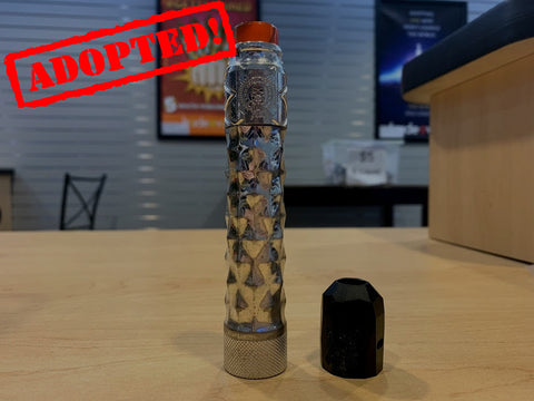 CompLyfe Collector Series Mod w/ extra cap *used* - Trade N Vape - Cheap vape - Comp Lyfe - usa - in stock - vapor - vaping
