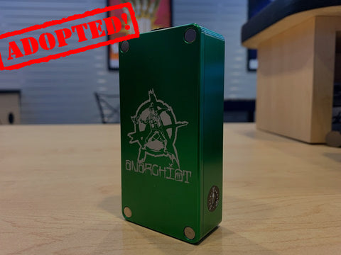 Green Anarchist HexOhm 2.1 *used* Serial #429