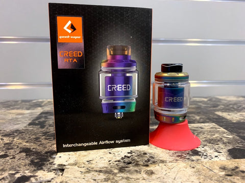 Creed 25mm RTA *Used* - Trade N Vape - Cheap vape - Geekvape - usa - in stock - vapor - vaping