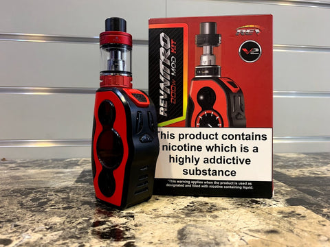 REV Tech Nitro 200w Kit *Used* - Trade N Vape - Cheap vape - REVTECH - usa - in stock - vapor - vaping